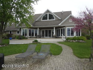 Gorgeous Donnell Lake Home for Sale, Cass County, MI